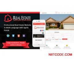 Real Estate Script with Admin, Agent and Renter/Buyer site