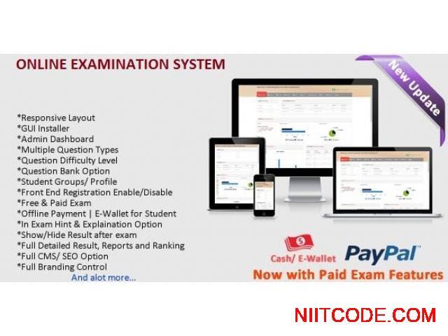 Online Examination System - 1/10