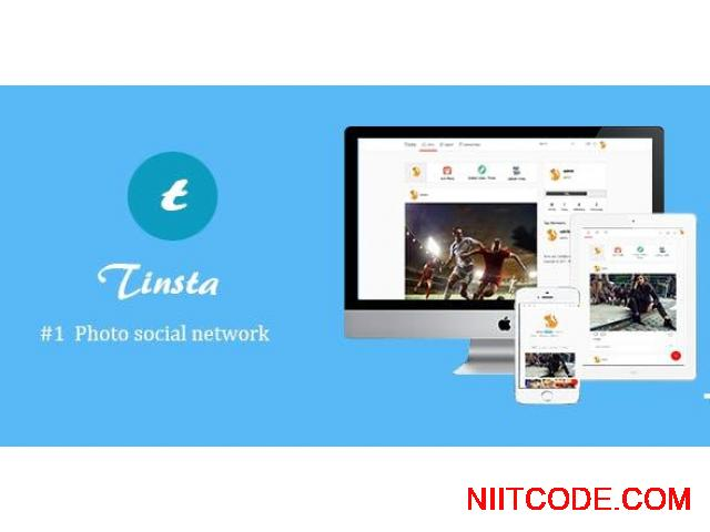 A Photo Sharing Social Networking Platform instagram clone - 1/7